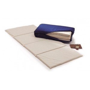 Materassino lattice shiatsu trasportabile